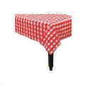 Rental store for Tablecover- Gingham Check Red Rec in Surrey BC