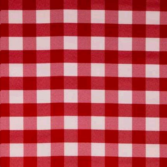 Where to find 62 x62  Gingham Red White in Surrey