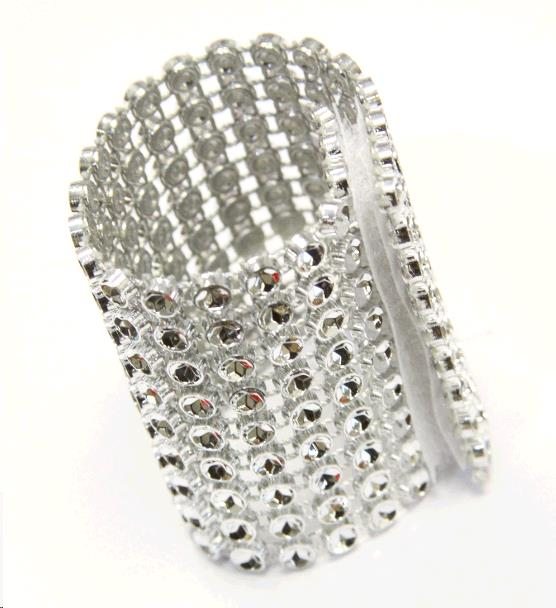 Where to find Silver Napkin Ring Bracelet in Surrey