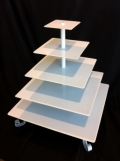 Rental store for Cupcake Stand 5 Tier - Square in Surrey BC