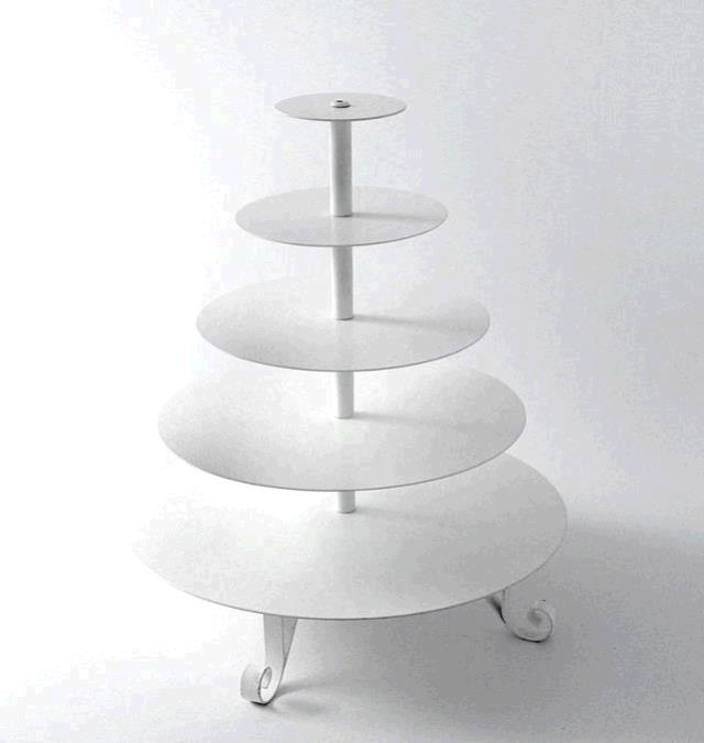 Where to find Cupcake Stand 5 Tier - Round in Surrey