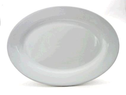 Where to find Porcelain Platter - 15.5 x11.5  Oval in Surrey