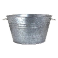 Rental store for Ice Tub, Small Galvanized Round in Surrey BC