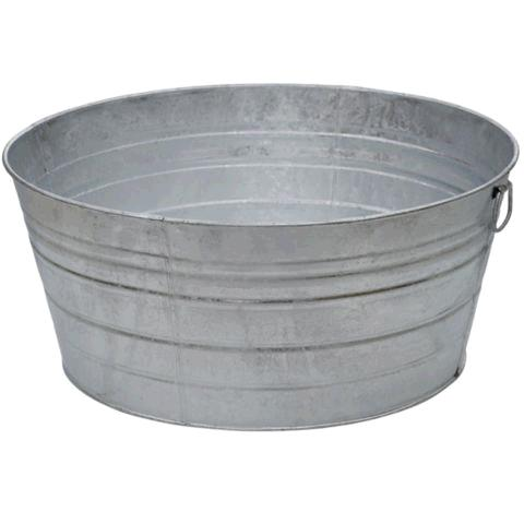 Where to find Ice Tub, Large Galvanized Round 15 Gal in Surrey