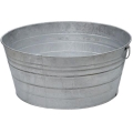 Rental store for Ice Tub, Large Galvanized Round 15 Gallon in Surrey BC