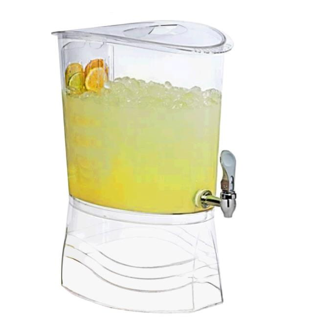 Where to find Beverage Jar Plastic  Oval  3 Gal in Surrey