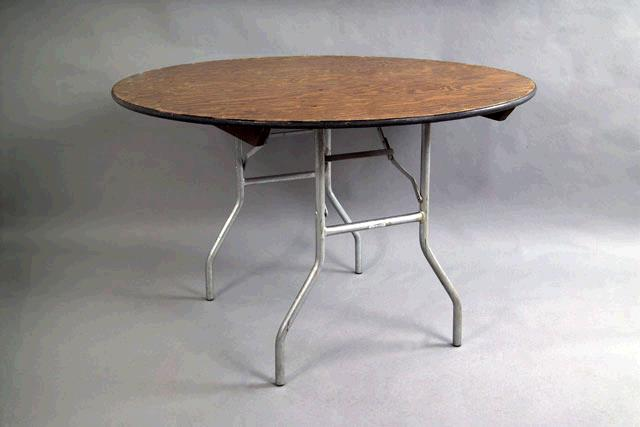 Where to find Table - 4  Round  Wood in Surrey