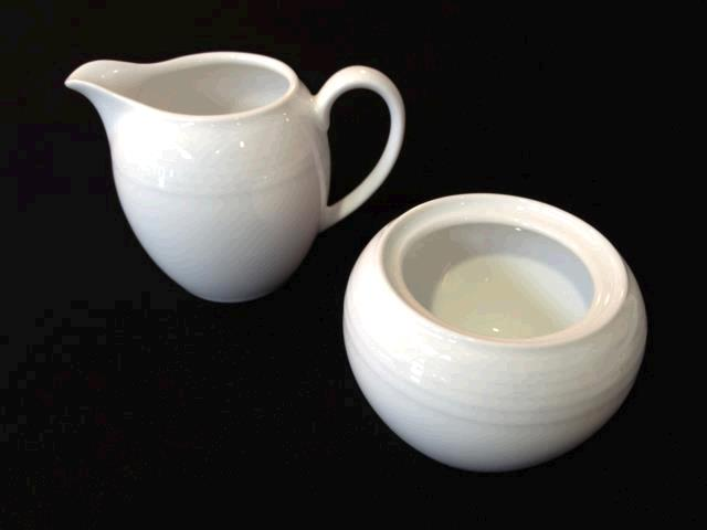 Where to find Arctic White - Cream   Sugar Set, Large in Surrey