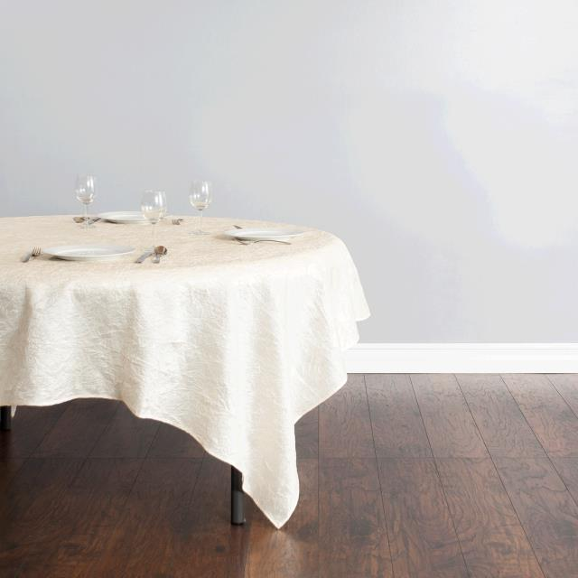 Where to find Tablecloth - 84 x84  Ivory Crinkle in Surrey
