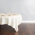 Rental store for Tablecloth - 84 x84  Ivory Crinkle in Surrey BC