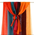 Rental store for Drapery - Organza Orange in Surrey BC