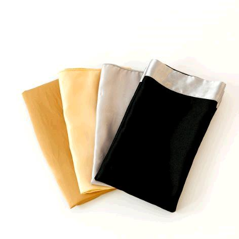 Where to find Cloth Napkins - Black with Silver Edge in Surrey