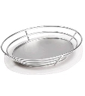 Rental store for Oval Basket - Stainless Steel in Surrey BC