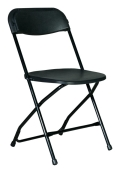 Rental store for Black Folding Chair in Surrey BC