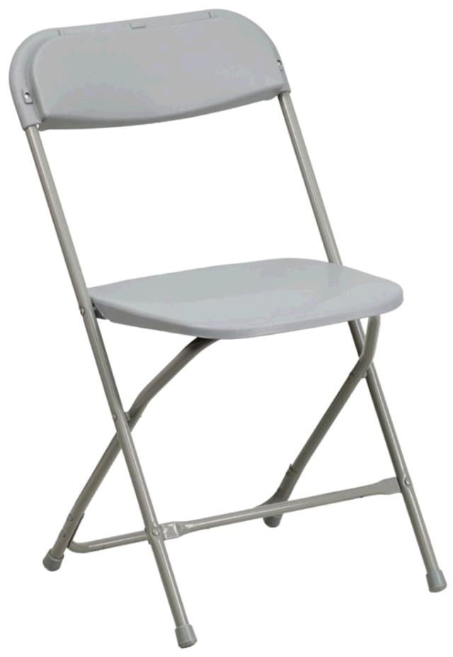 Where to find Chair - Folding Grey in Surrey