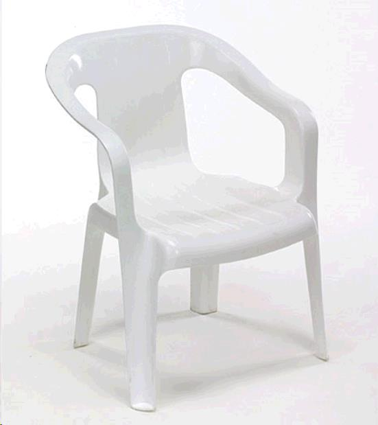 Where to find Chair- Childrens White in Surrey