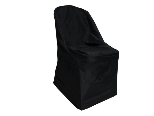 Where to find Chair Cover- Folding Black in Surrey