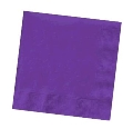 Rental store for .Beverage Napkin- Purple in Surrey BC