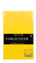 Rental store for Tablecover- Yellow Sunshine   Round in Surrey BC