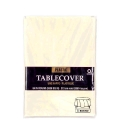 Rental store for Tablecover- Vanilla Creme   Round in Surrey BC