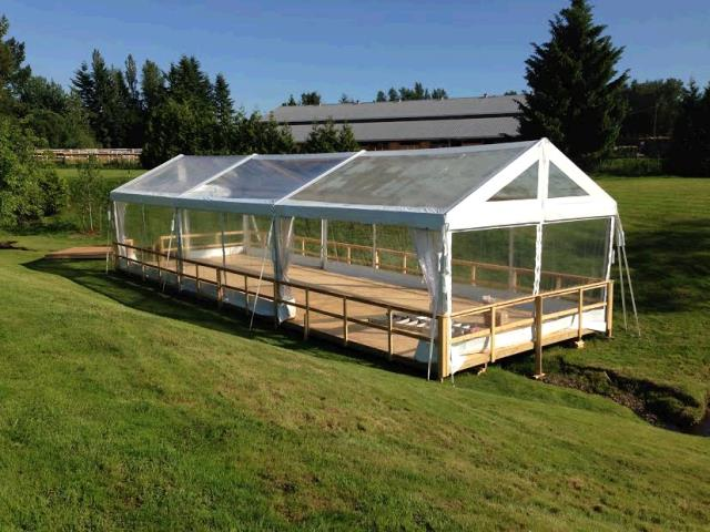 Where to find Frame Tents  20  wide in Surrey