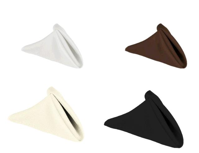 Where to find Napkins - White, Cream, Brown, Black in Surrey