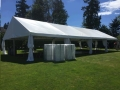 Rental store for Frame Tents  30  wide in Surrey BC