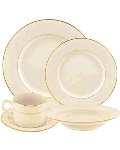 Rental store for Cream Double Gold Dinnerware in Surrey BC